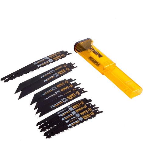 Dewalt DT99550 XR Flex Volt 13 Piece Reciprocating Saw Blade Set