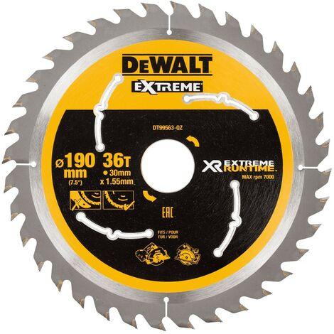 Dewalt DT99563-QZ Lame de scie circulaire sans fil XR Runtime 190x30mm 36 dents 190/30