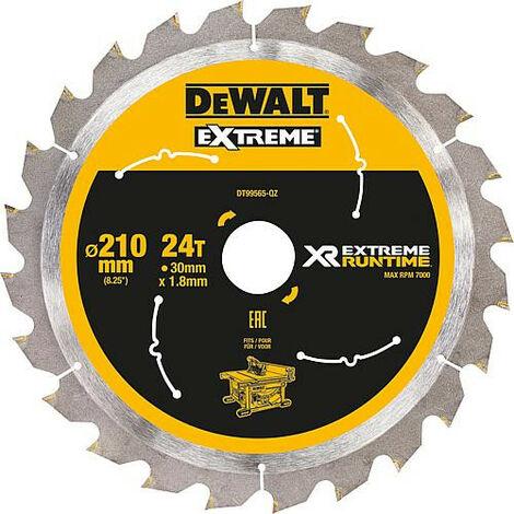Dewalt DT99565-QZ Lame de scie circulaire stationnaire XR Runtime 210x30mm 210/30