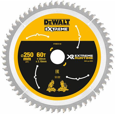 Dewalt DT99573 Xtreme Runtime 250MM X 30MM 36T CSB