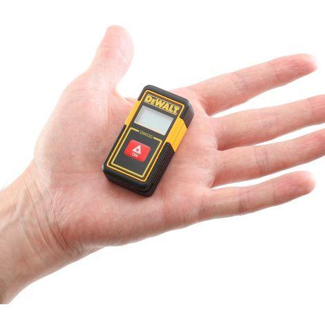 DEWALT DW030PL-XJ - Medidor láser de distancias de bolsillo con alcance de 9m