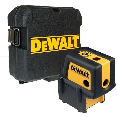 DeWALT DW084K Laser 4 points Laser ponctuel portée 25m Coffret