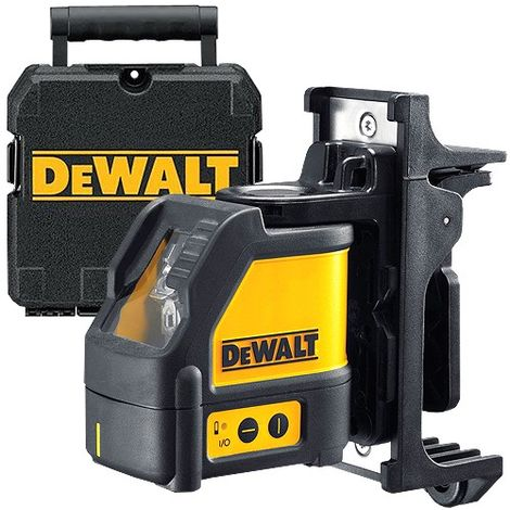 DeWalt DW088K Cross Line Laser Level Kit + Wall Mount Bracket