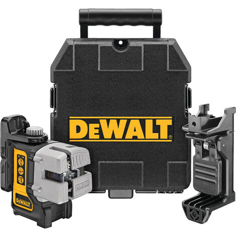 Dewalt DW089K 3 Way Self-Levelling Multi Line Laser