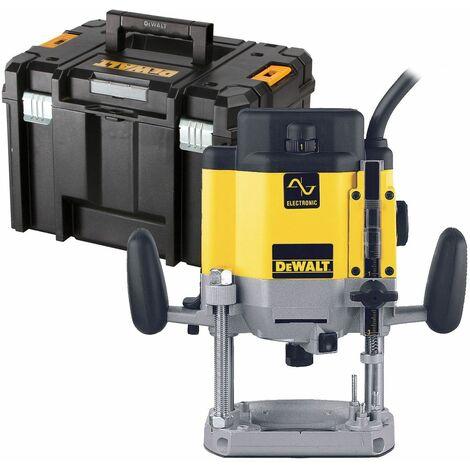DeWALT DW625EKT Défonceuse électronique 2000W 6-12.7mm avec coffret TSTAK