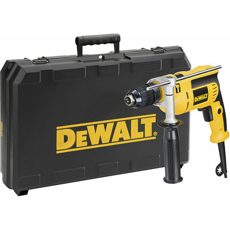 DEWALT DWD024K-GB D024K 13mm Keyless Percussion Drill & Case 701W 240V