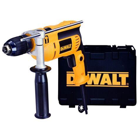 """main image of """"DEWALT DWD024KS-QS trapano percussione 13mm 701w valigetta"""""""