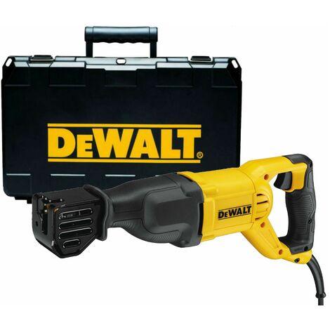 DeWalt DWE305PK Sierra de sable en maletín - 1100W - de cambio rápido