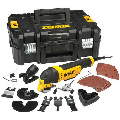 DeWalt DWE315KT Multi-Tool Quick Change Kit & TSTAK 300 Watt 110 Volt