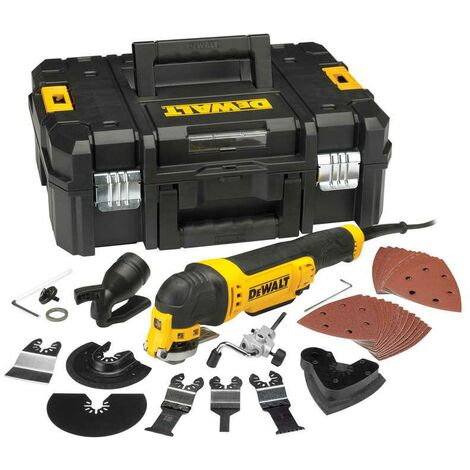 DeWALT DWE315KT Oscillating Multi Tool Kit 240v + 37pc Accessory Kit