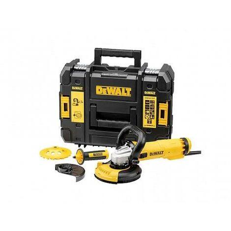Dewalt DWE4257KT-QS Elektronik pour meuleuse d'angle pour béton 125 mm - 1500 W, 240 V, dwe4257kt pour QS, 2 W, 240 V