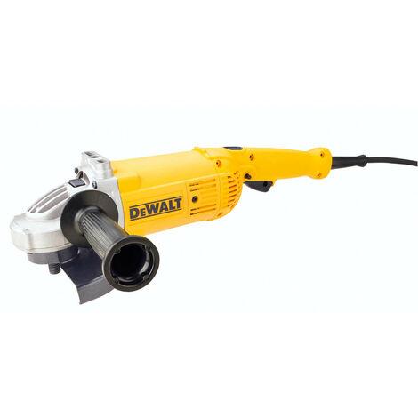 DeWALT DWE496-QS Winkelschleifer 230mm 2600Watt, Schwarz/Gelb