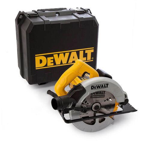 Dewalt DWE560K 240V 65mm DOC Compact Circular Saw 184mm in Kitbox