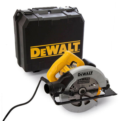 DeWalt DWE560KL 184mm Compact Circular Saw & Kitbox 1350 Watt 110 Volt