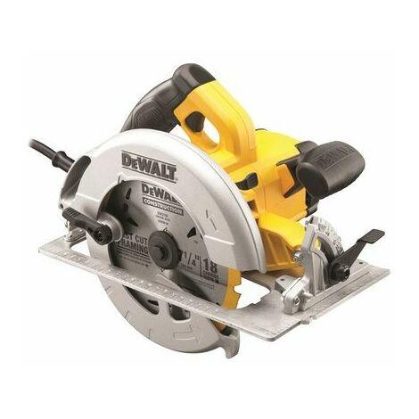 DeWalt DWE575KL 190mm Precision Circular Saw & Kitbox 1600 Watt 110 Volt