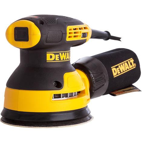 Dewalt DWE6423L 110V 125mm Hook & Loop Random Orbit Plam Sander 280W