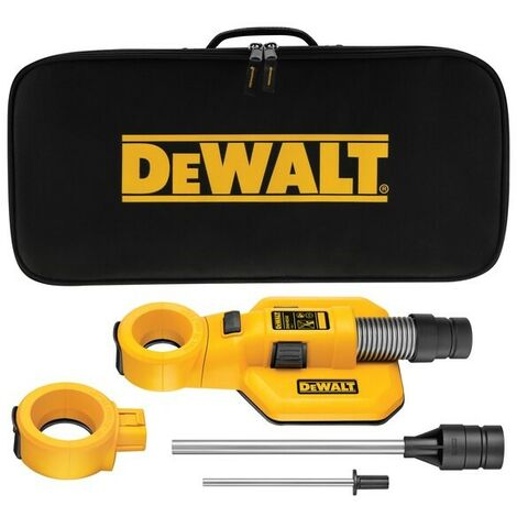 Dewalt DWH050 Drill/ SDS Plus Drilling Dust Extraction Unit Hole Cleaning Kit