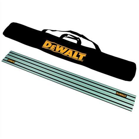 DeWalt DWS5022 1.5m Guide Rail for DWS520 Plunge Saws Includes Carry Bag