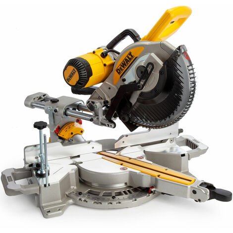 Dewalt DWS727 250mm Double Bevel Slide Mitre Saw With XPS 110V