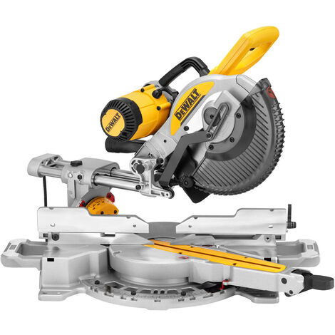 DeWalt DWS727L-LX 250mm XPS Double Bevel Slide Mitre Saw 1675W 110V