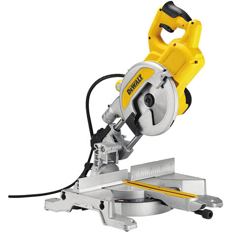 DeWalt DWS777L 110V 216mm XPS 1800W Crosscut Sliding Compound Mitre Saw