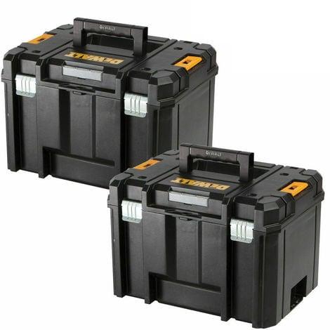 Dewalt DWST1-71195 TSTAK VI Deep Tool Storage Case Heavy Duty 23L Twin Pack