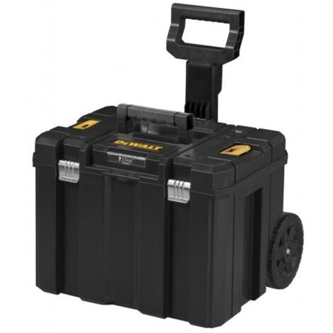 Dewalt DWST1-75799 TStak Rolling Mobile Tool Storage Box With Extendable Long Handle