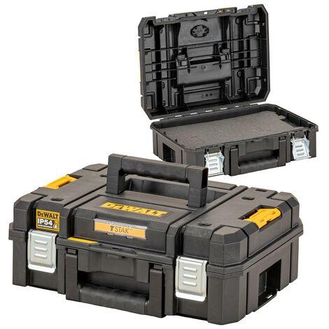 Dewalt DWST83345-1 TStak 2.0 IP54 Power Tool Storage Box Capacity + Foam Insert