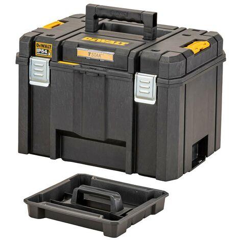 Dewalt DWST83346-1 TSTAK 2.0 VI Deep Tool Storage Case Heavy Duty 23L Tote Tray