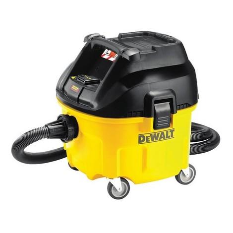 DeWalt DWV901L Wet & Dry Dust Extractor 30 Litre 1400 Watt 110 Volt