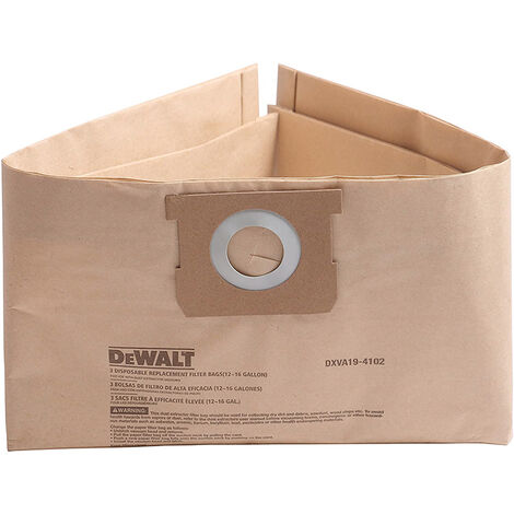 DeWalt DXVA19-4204 Dust Bag Pack of 3