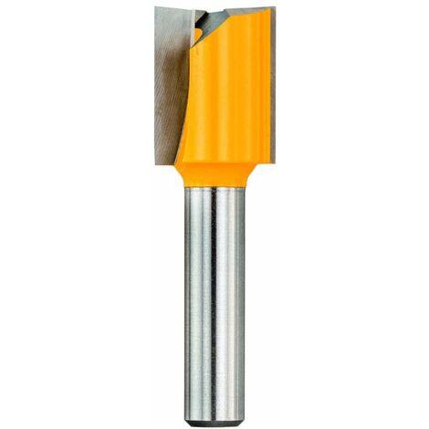 DeWalt Fraise à rainer - 2 Taillants 8x20mm longueur de travail 20mm