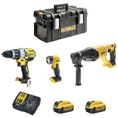 DeWALT Kit DCK288M2DS-33 (DCH133 + DCD996 + DCL040 + 2 x 4,0 Ah + DCB115 + DS300)