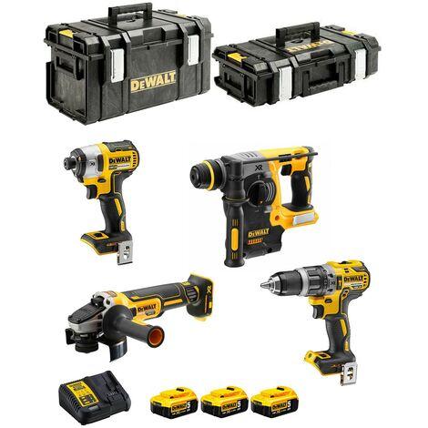 DeWALT Kit DCK422P3 (DCD796 DCF887 DCH273 DCG405 3 x 5,0 Ah DCB115 DS150 DS300)