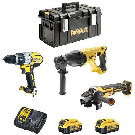 DeWALT Kit DCK430M2DS-33 (DCH133 + DCD996 + DCG405 + 2 x 4,0 Ah + DCB115 + DS300)