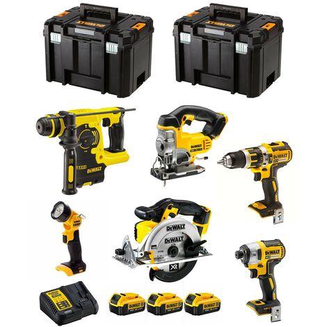 DeWALT Kit DCK699M3T (DCD796 + DCS391 + DCS331 + DCF887 + DCH273 + DCL050 + 3 x 4,0 Ah + DCB115 + 2 x TSTAK VI)