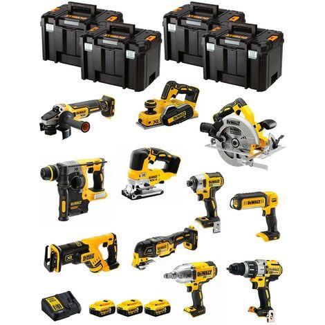 DeWALT Kit DWK1103T (DCD996+DCH273+DCG405+DCF887+DCF899H+DCS334+DCS570+ DCS355+DCP580+DCS367+DCL050+ 3x5,0AhDCB115+4xTSTAK VI)