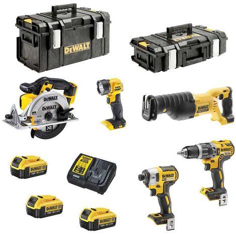 DeWALT Kit XP593M3 (DCD796 + DCF887 + DCS380 + DCS391 + DCL040 + 3 x 4,0 Ah + DCB115 + DS150 + DS300)