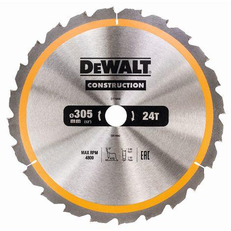 DeWALT Lama per sega circolare, 305/30 mm, 48 denti - DT1959-QZ