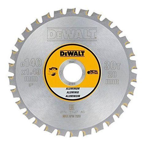 DeWalt Lame de scie circulaire en métal 140/2030FZ et 3 pour de dt1910QZ Aluminium