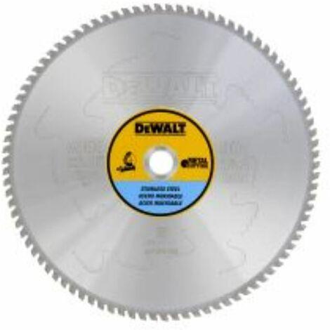 DEWALT Lame de scie circulaire pour métal ? 355 mm 25,4 mm | Robuste 90TFZ + 10 °