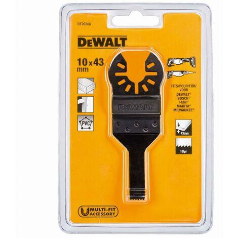 Dewalt lame large bimétal pour multi-cutter - dt20705