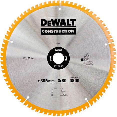 DeWALT Lame pour scie stationnaire, 305mm - DT1184-QZ