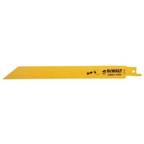 DeWalt - Lame scie sabre application spéciale Bi-métal, carbure de tungstène - Modèle: DT2420