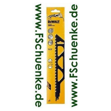 DeWalt - Lame scie sabre application spéciale Bi-métal, carbure de tungstène - Modèle: DT2421