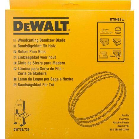 DEWALT Lames pour scies à ruban DW738 et DW739