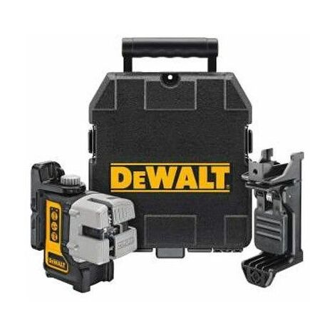 DEWALT - Laser (classe 2) 3 plans - nivellement automatique