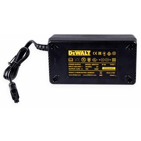 DeWALT Netzteil N557515 für Akku-Kompressor DCC018N-XJ - Netzteil - Netzadapter - Zubehör - 3x Regionsspezifische Wechselstromkabel DeWALT - 19633