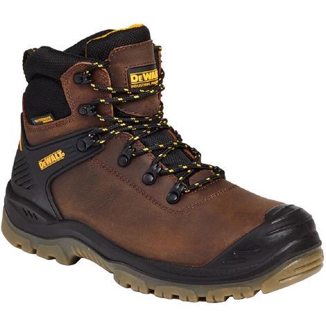 Dewalt Newark Mens Leather Waterproof Safety Boot