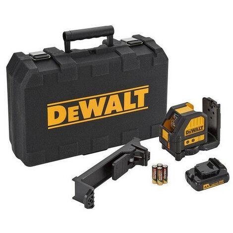 DeWalt - Niveau laser en croix automatiques portée 20m à batteries - DCE088LR